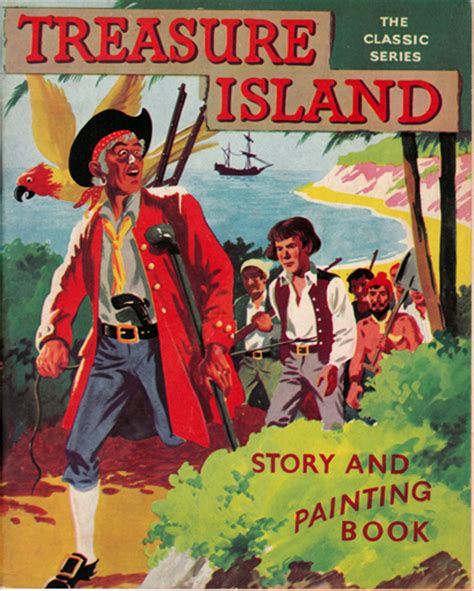 treasure island picture book the classic series treasure island story and painting