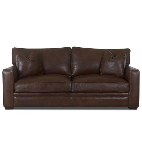 klaussner leather sofas klaussner homestead leather sofa wayside furniture sofas