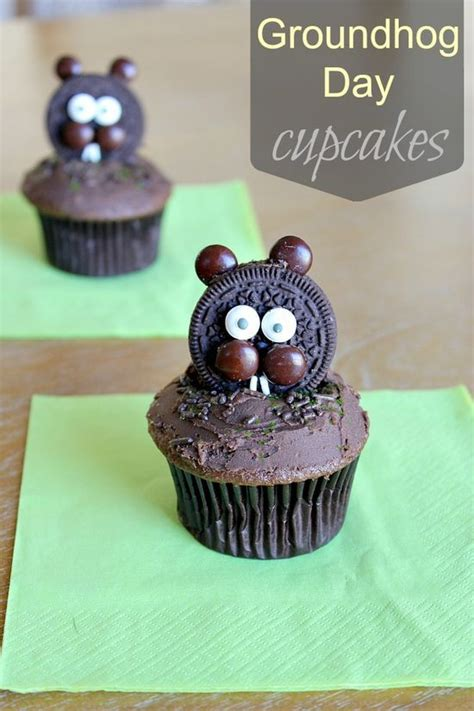 groundhog day supplies pin and save for later groundhog day cupcakes and more