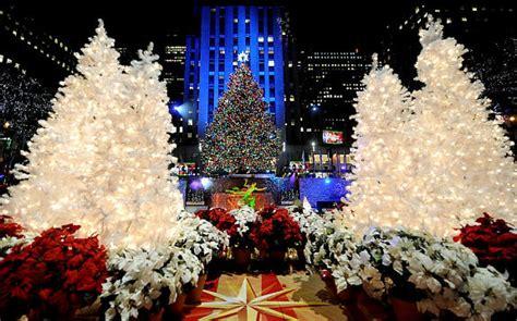 new york tree lighting rockefeller center tree lighting o