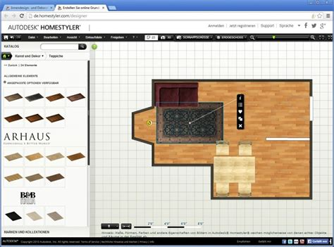 autodesk homestyler die software neuheiten der woche kw 40 bilder