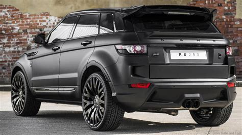kahn tuning for the range rover evoque rs sport drive safe and fast