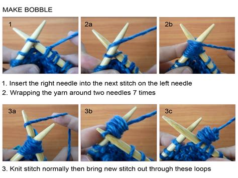 how to fix knitting scarf with bobbles on garter background knitting unlimited