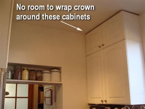 crown molding on kitchen cabinets how to design and install an improvised kitchen crown