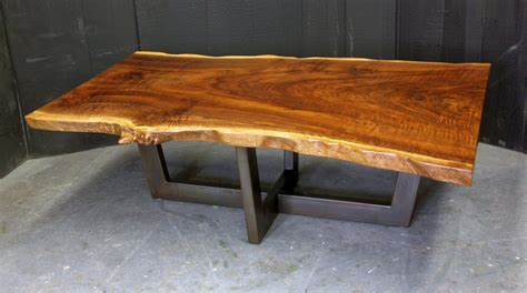 live edge coffee table dorset custom furniture a woodworkers photo journal a