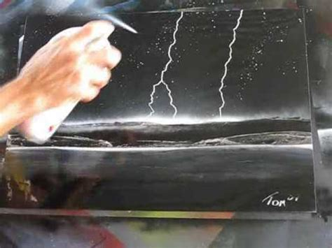 spray paint lightning spray paint spacepainting awesome lightning