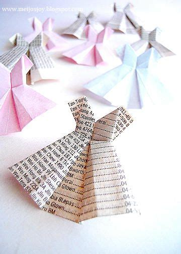 origami paper dress paper dresses paper and origami on