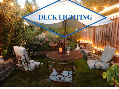 patio deck lighting patio and deck lighting ideas 1000bulbs