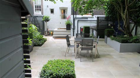 courtyard garden design london ginkgo portfolio