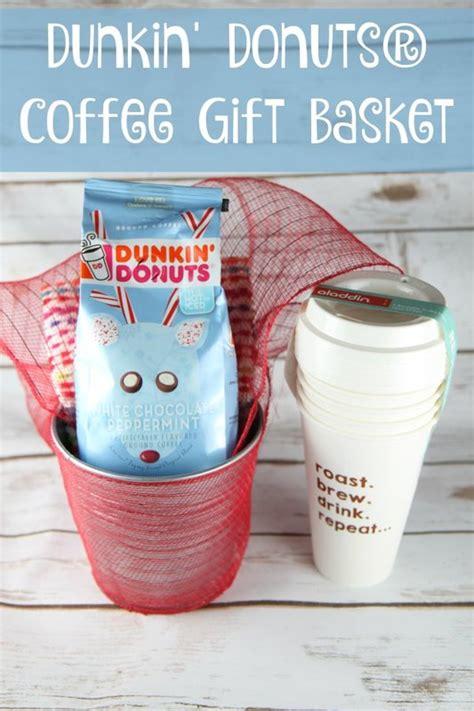 dunkin donuts gift basket ideas lamoureph
