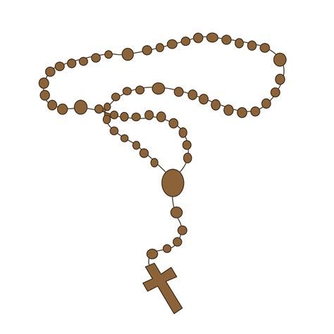 free rosary rosary clipart clipart suggest