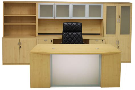 maple office furniture glass front maple conference desk