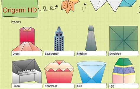 origami apps make origami on your windows 8 10 tablet with origami hd