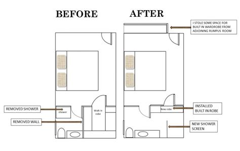 floor plans for bedroom with ensuite bathroom lyndie s ensuite bathroom makeover