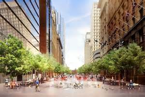 martin place tree lighting makeover plan for sydney s martin place includes more