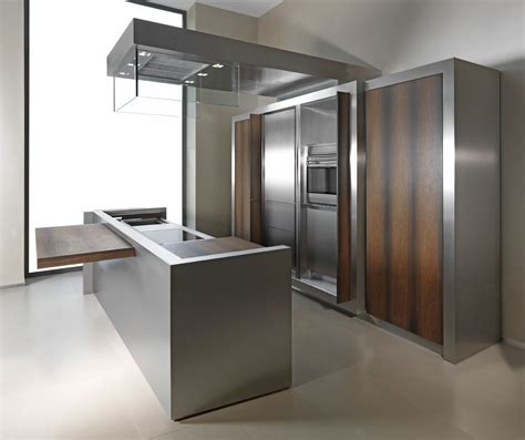stainless cabinets kitchen 7 stainless steel kitchen cabinets with modern look homeideasblog