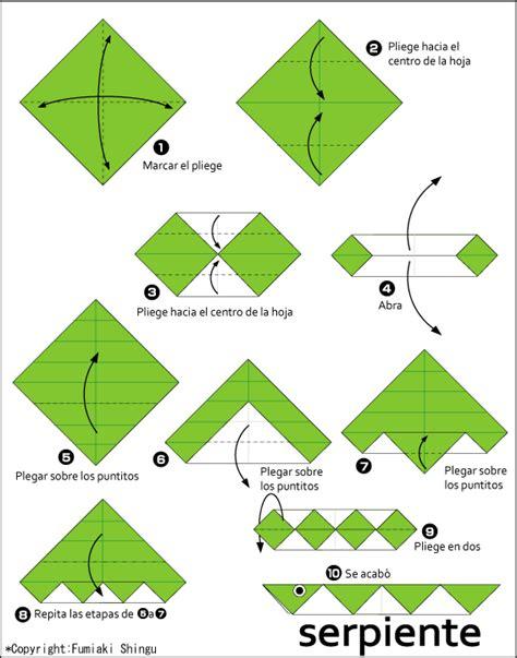 easy origami club origami serpiente