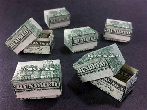 origami money box gift box money origami dollar bill sculptors bank