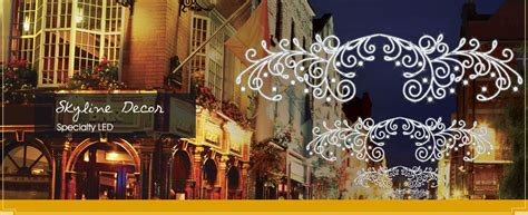 commercial decorations canada dekra lite commercial lights and displays lit
