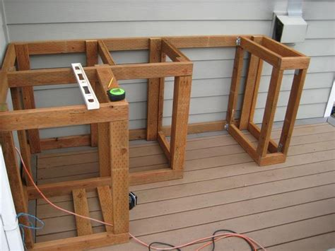 Build An A Frame how to build outdoor kitchen cabinets