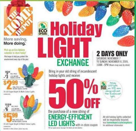 home depot lights exchange home depot light exchange save 50 on energy