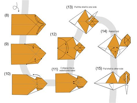 origami snail how to make origami snail search results calendar 2015
