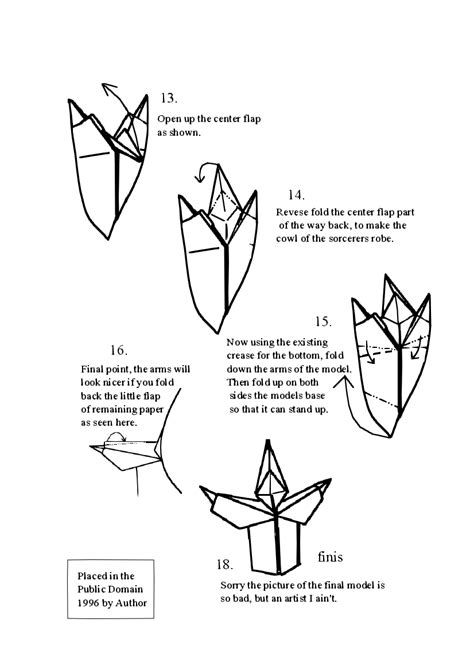 origami person easy free origami diagrams learn how to make