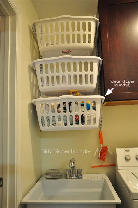Kitchen Organization Ideas Budget the laundry room makeover in progress utilizing a small