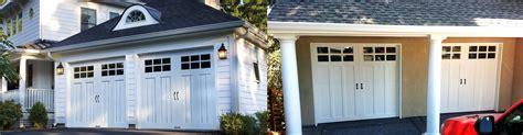 garage door to house carriage house garage doors serving the bay area