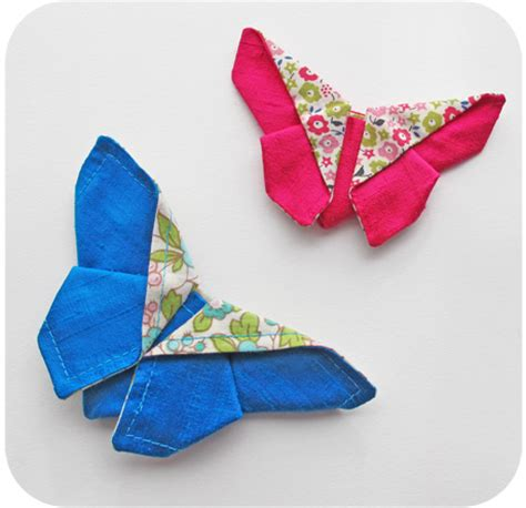 origami butterfly pattern fabric origami butterfly sewtorial