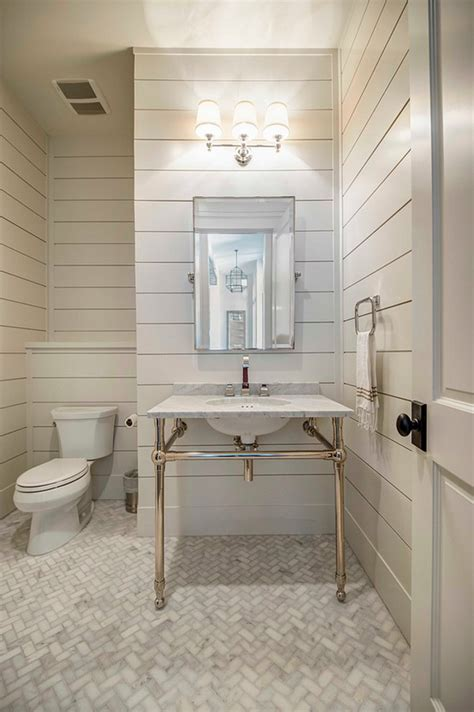 White Tongue And Groove Bathroom Cabinet by Farmhouse Interior Design Ideas Interior For