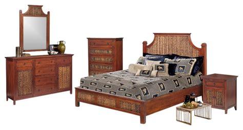wicker bedroom furniture sets fiji tropical rattan and wicker 5 bedroom set