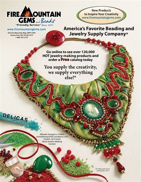 bead style magazine 17 best images about magazine back cover ads on