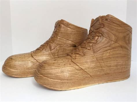 woodworking shoes unique air 1 wood kicksologists