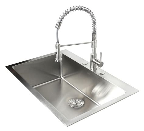 stainless steel single bowl drop in kitchen sinks 33 inch top mount drop in stainless steel single bowl