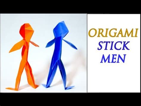 origami person easy how to make an origami person intermediate level