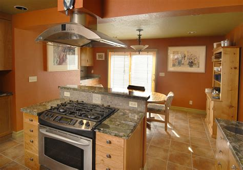 kitchen islands with stove how to get more cooking countertop and storage space construction inc