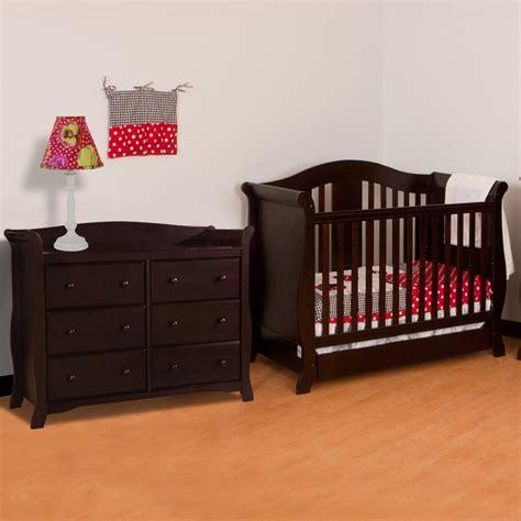 espresso baby crib sets dresser inspirational espresso crib and dresser set
