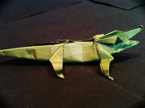 crocodile origami origami crocodile simple by mrchrizpy on deviantart