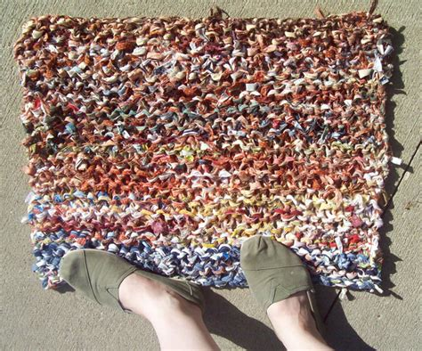 how to knit a rug knitted rag rugs rugs ideas