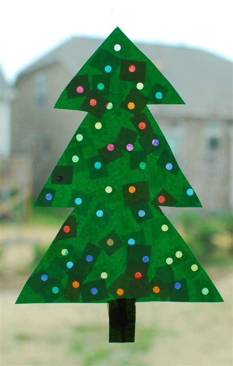 tree preschool craft tree with lights paper craft in lieu of preschool
