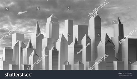 how to get origami in city origami city 1 origami paper cityscape stock photo