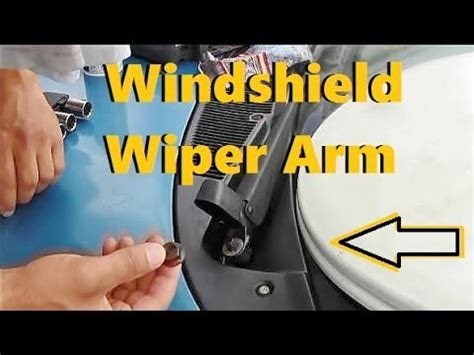 solved how do i remove the windshield wiper motor from a fixya how to remove install windshield wiper arm 2 youtube
