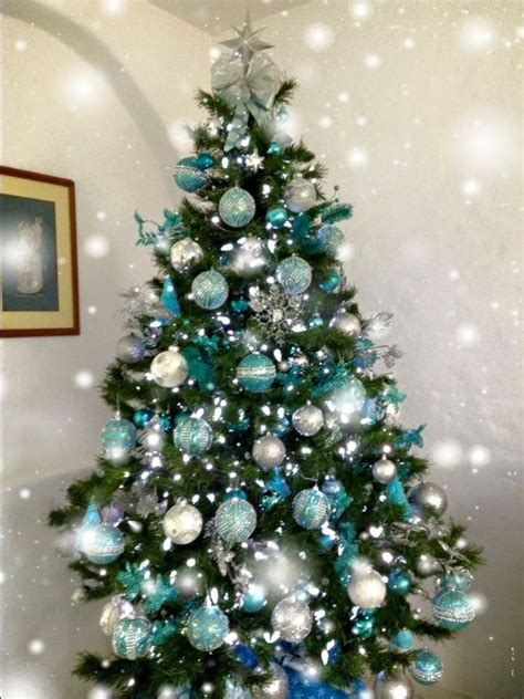 green decorated tree 25 unique teal tree ideas on teal