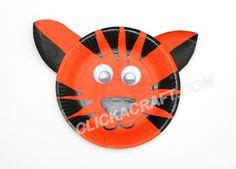 tiger paper plate craft paper plate animals on