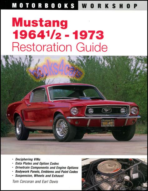 books on how cars work 1969 ford mustang transmission control service manual book repair manual 1969 ford mustang on board diagnostic system service