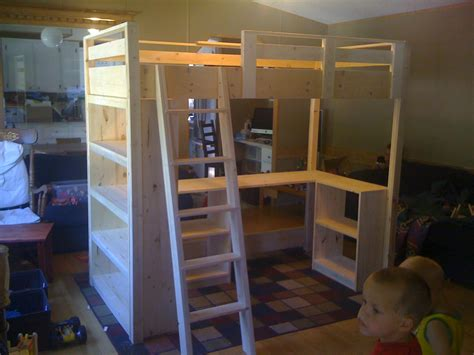 diy loft bed white s loft bed diy projects