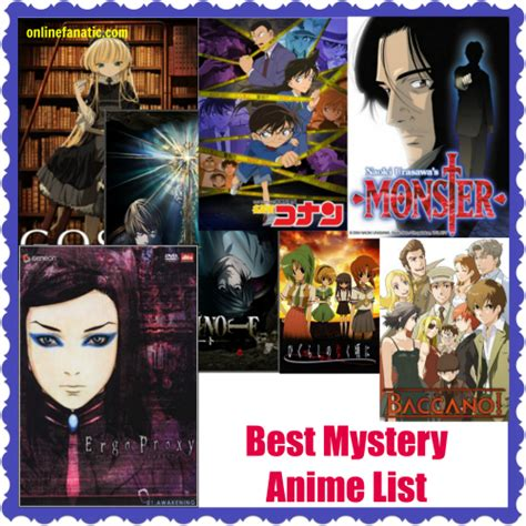 best list top 10 best mystery anime series list recommendations