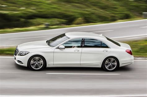 2015 S550 Mercedes by 2015 Mercedes S550 In Hybrid In Motion Side View
