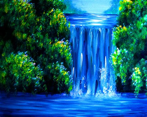 paint nite yakima river easy painting www imgkid the image kid has it